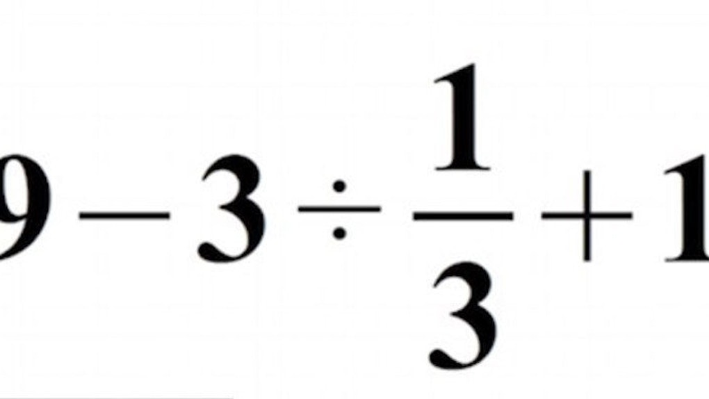 Can You Solve This Simple Math Problem? It May Surprise