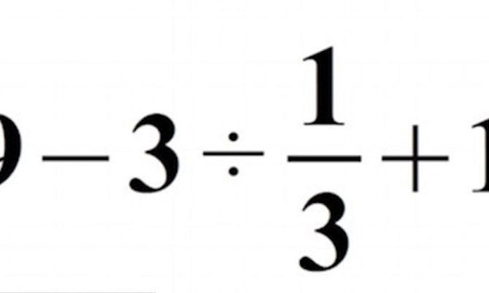 Can You Solve This Simple Math Problem? It May Surprise And/Or ...
