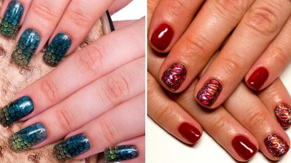 Dragon Scale Nails Are The Hottest New Beauty Trend Literally