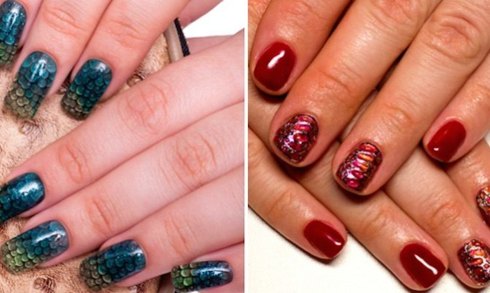 Dragon Scale Nails Are The Hottest New Beauty Trend, Literally