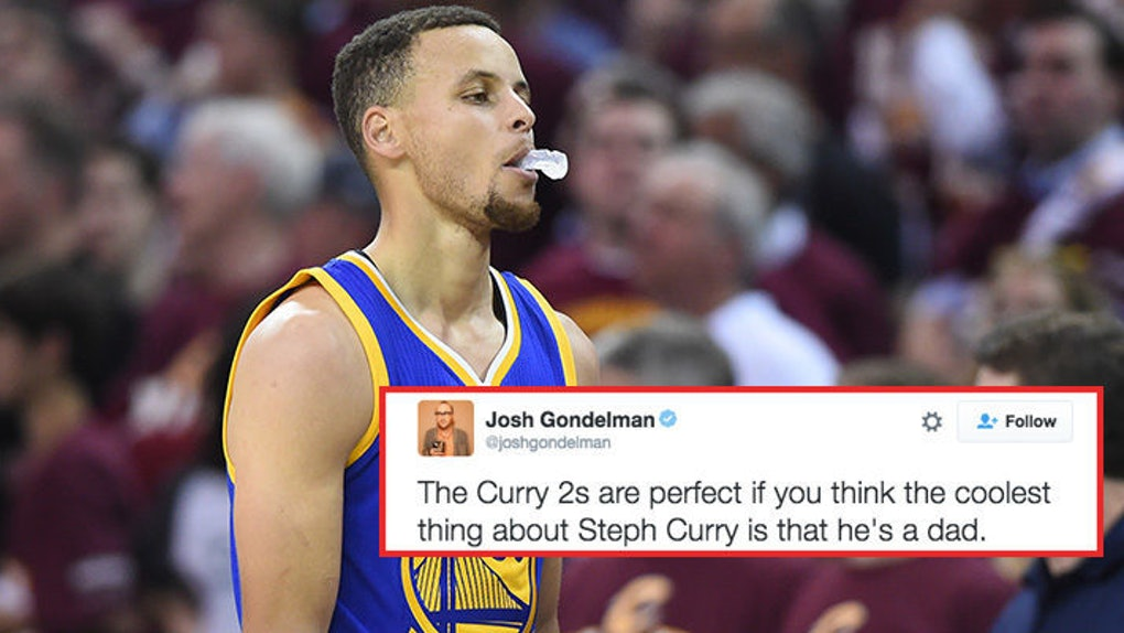 128a9b11 People Can't Stop Making Fun Of Steph Curry's New Under Armour Shoes