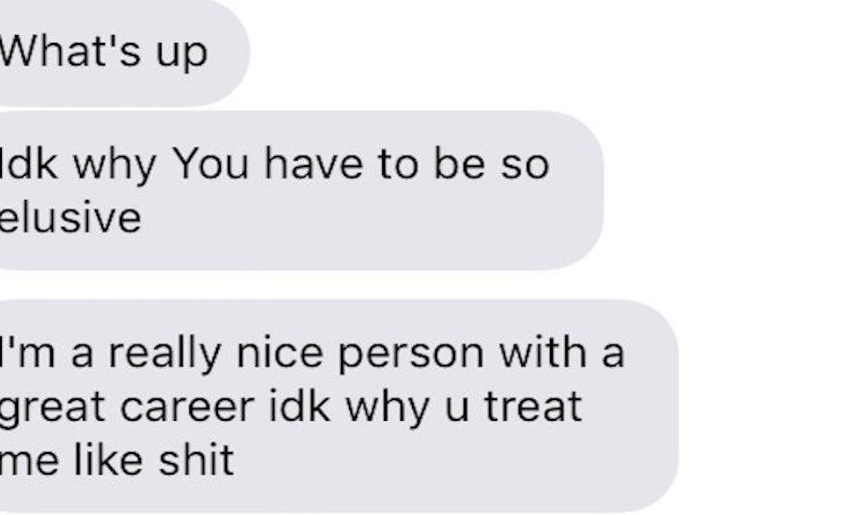 hookup keeps texting