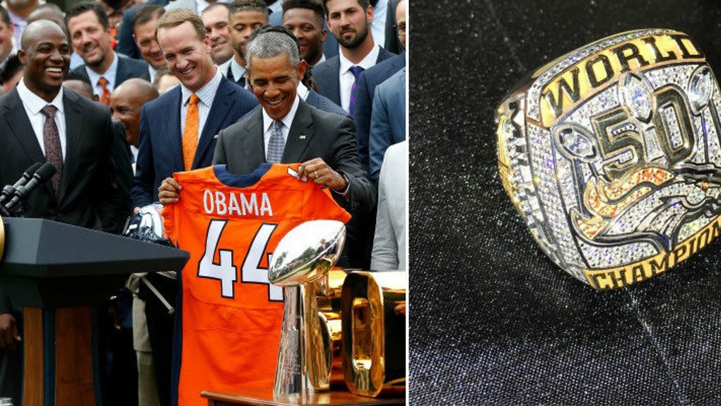 d7d5430e110c The Denver Broncos  Super Bowl 50 Rings Will Straight-Up Blind You