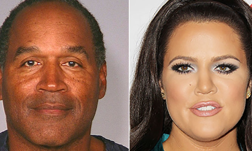 We Yzed Khloé K S And Oj Simpson Faces To Put Those Dad Rumors Rest