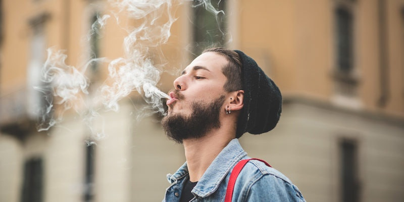 Smoking mature gets a surprise