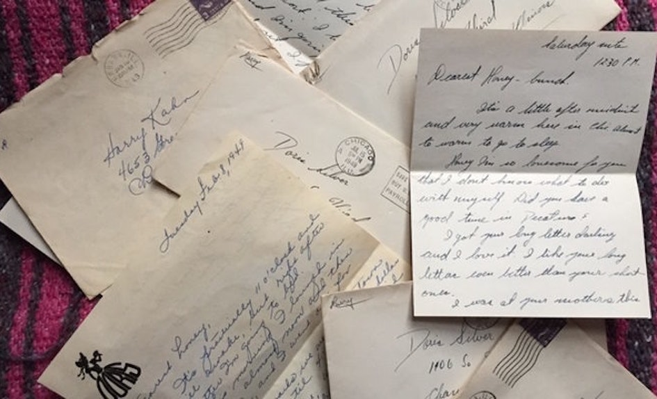 these love letters my grandparents wrote each other put texting to shame