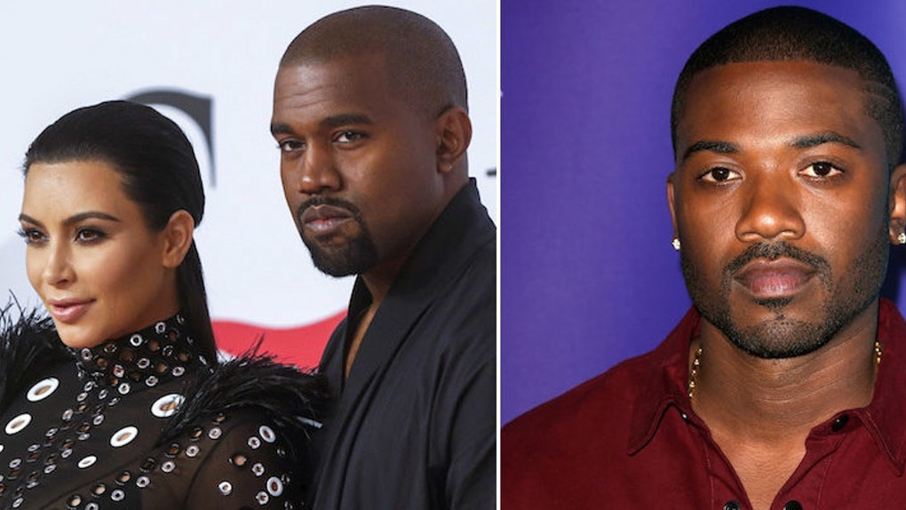 Ray J Responds To Being Featured Naked With Kim K In Kanye