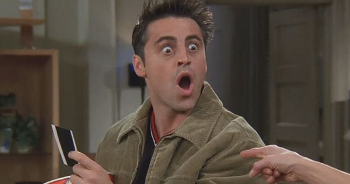 Joey Totally Lost It In This Friends Scene And You Probably Missed It