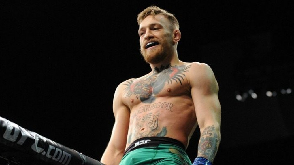 Conor McGregor Posed Butt-Naked In ESPNs Body Issue And