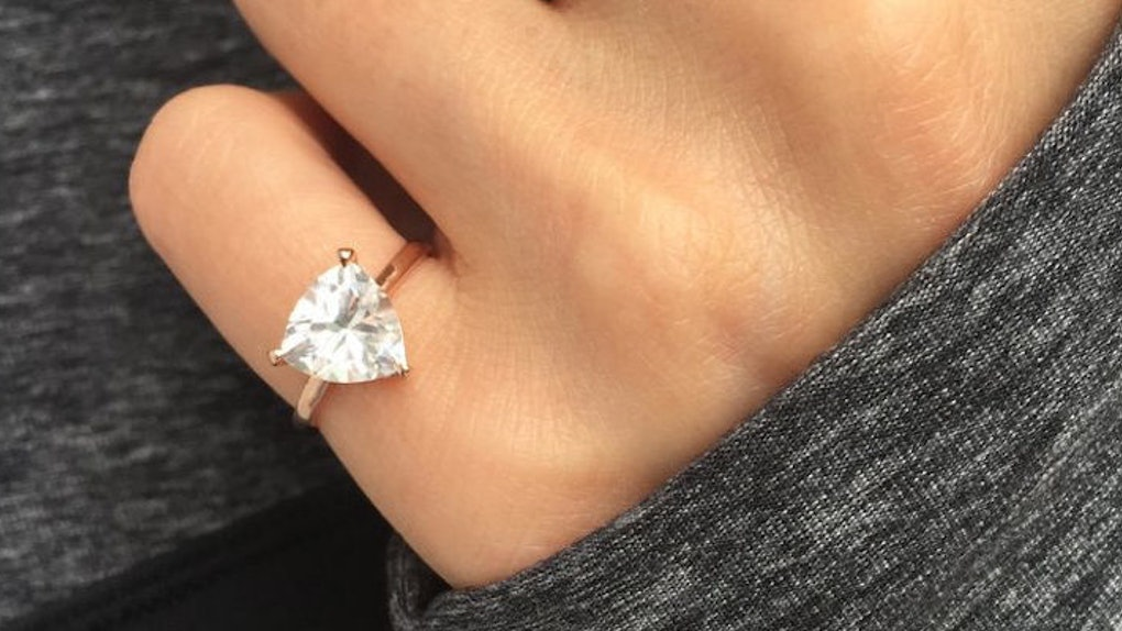 Single Ladies Are Buying These Non Engagement Rings To Commit To Self Love
