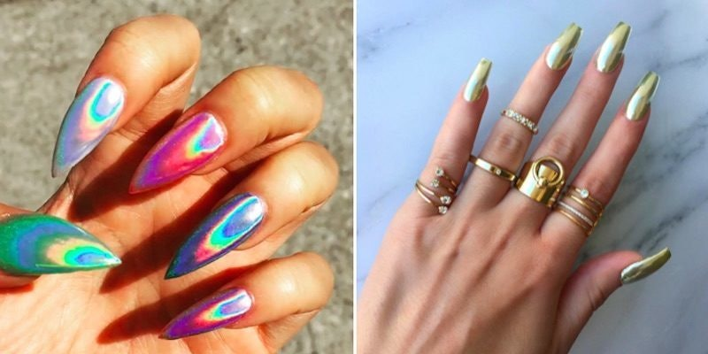 Holographic Nails Are The Beauty Trend You Need To Try