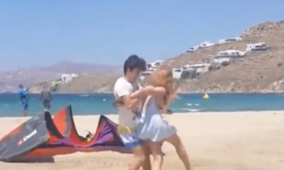 Lindsay Lohan Got Caught Having A Disturbing Physical Fight With Her Fianc-7507