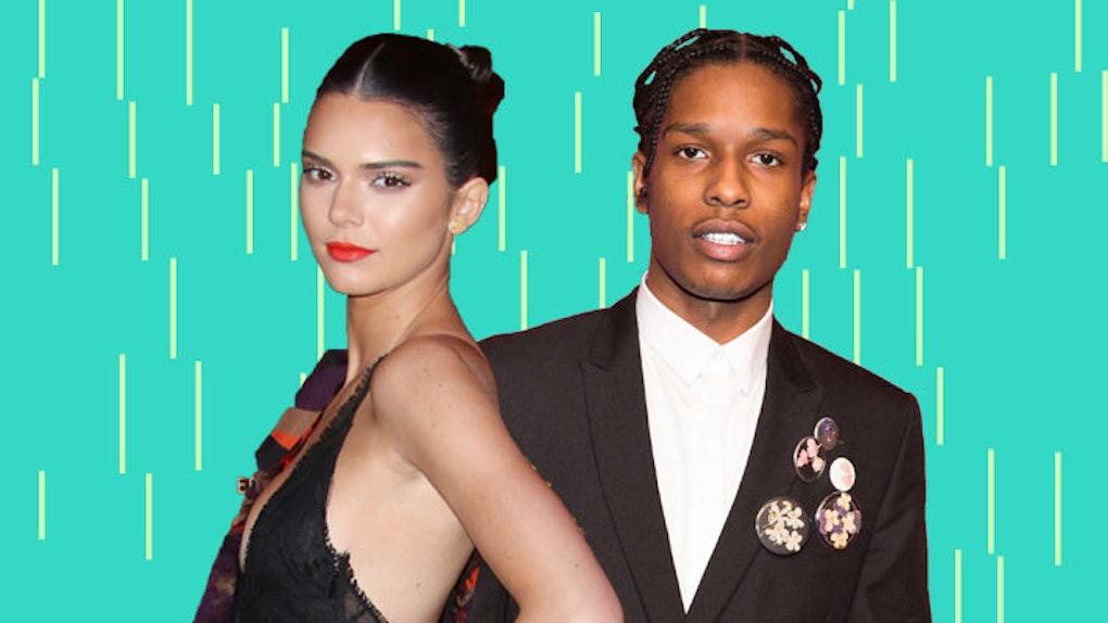 Kendall Jenner datant ASAP USMC Dating politique