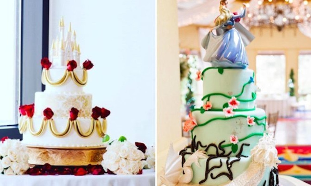 These Disney Wedding Cakes Will Give You The Ultimate