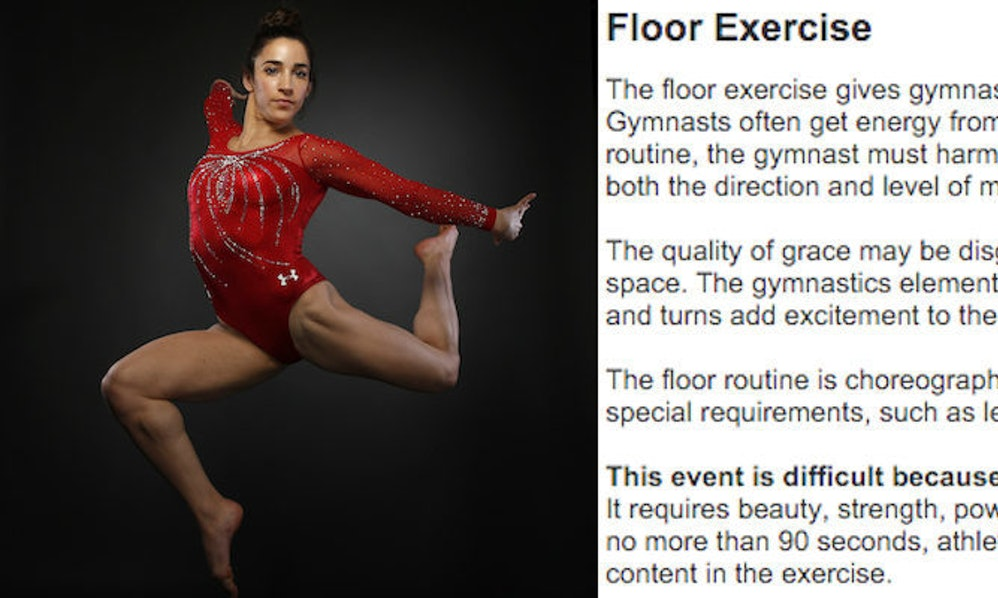 You Don T Know How Sexist Gymnastics Is Until You See The