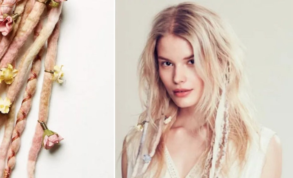free people tried selling clip in dreads proving fast fashion is