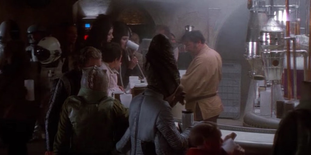 Hollywood Is Getting A Star Wars Cantina Bar