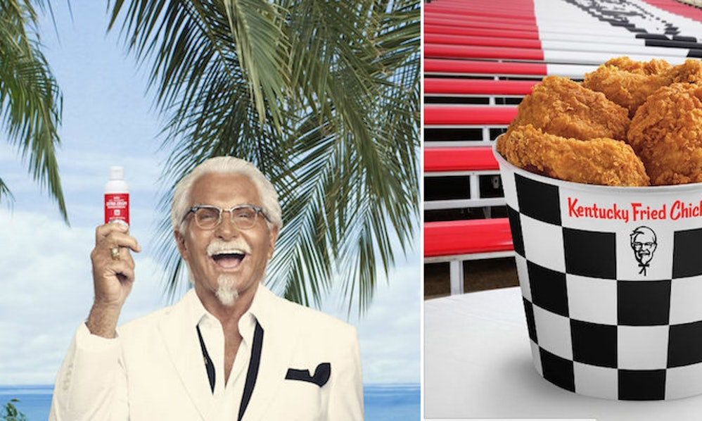 KFC Is Now Selling Sunscreen That Smells Like Fried Chicken
