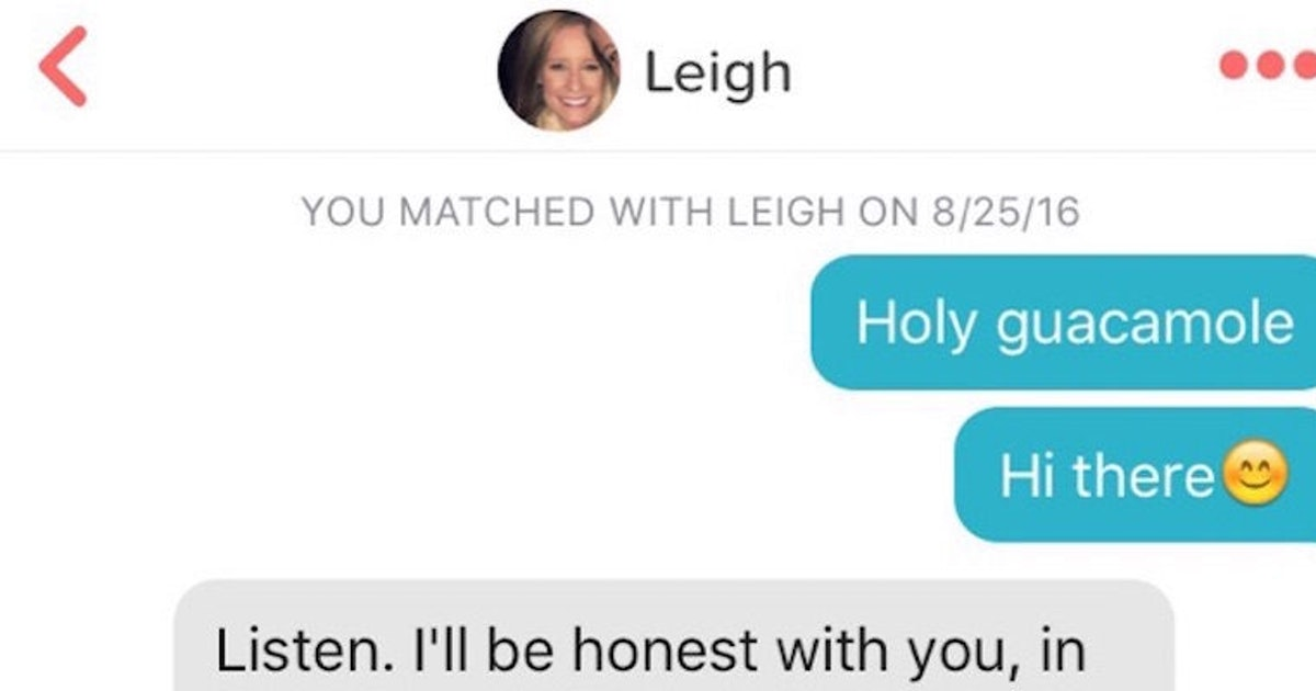 This Guy Can't Stop Using Puns On Tinder Even After Getting