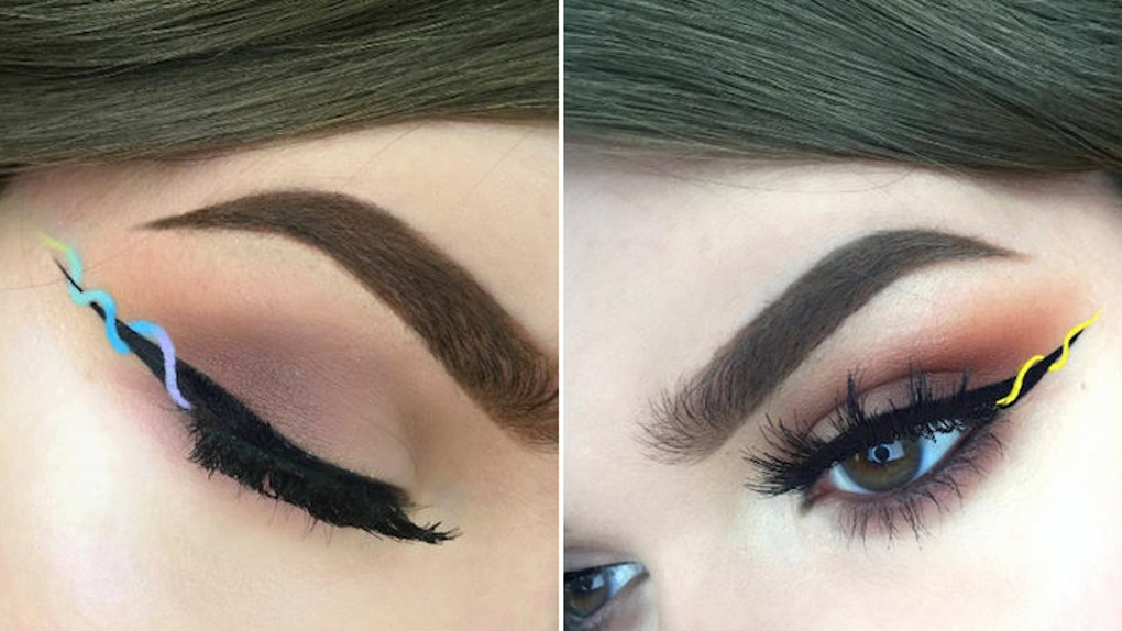 Everyone Is Obsessed With The Helix Eyeliner Trend Taking