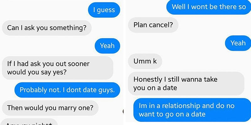 How often do you text the girl you are dating