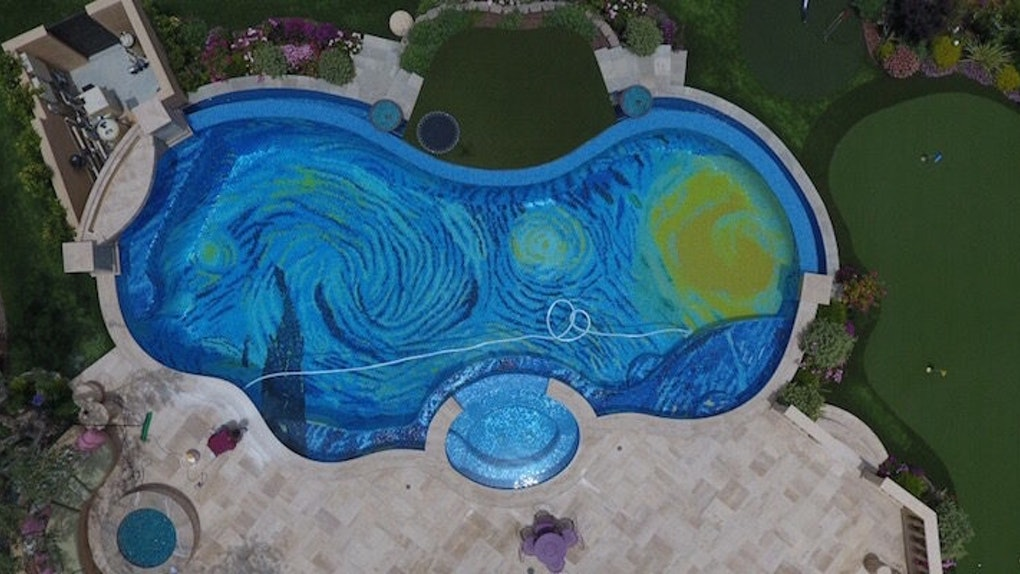No One Can Get Over This Pool That Looks Like The Starry