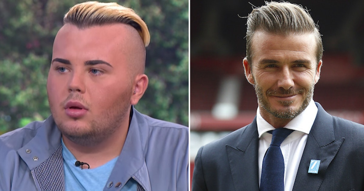 This Guy Wants To Be A David Beckham Lookalike
