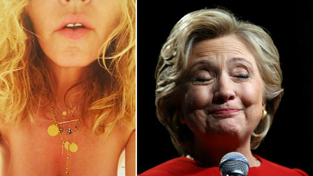 Madonna Uses Hillary Clinton As Excuse To Post Naked Instagram-1518