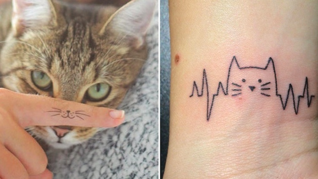25 Tiny Tattoos That Prove Being A Cat Lady Is Finally Cool
