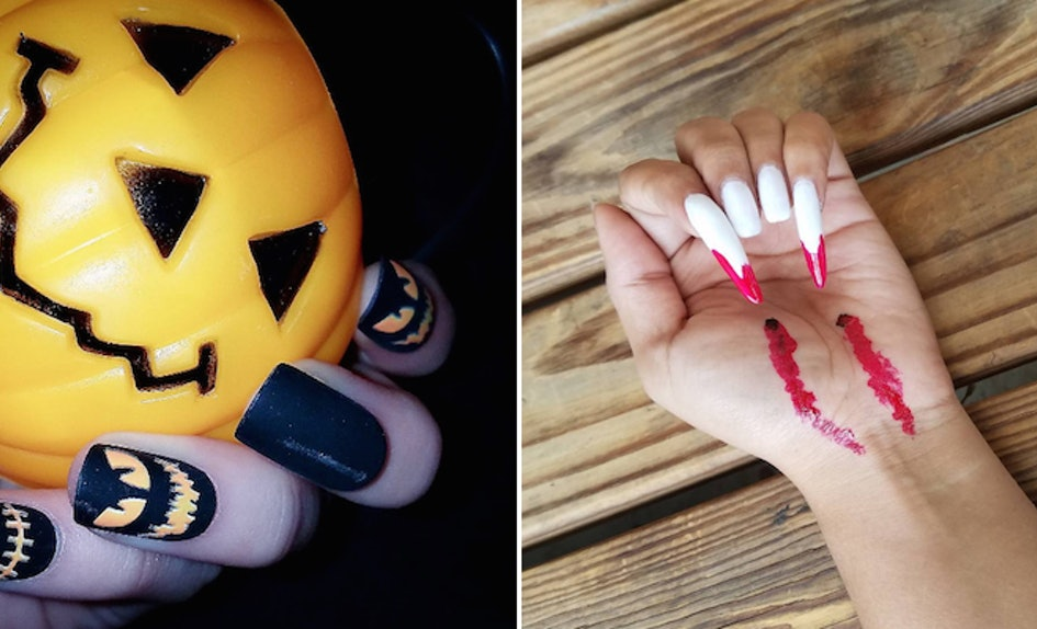 25 Spooky Nail Art Designs That Are Better Than Any Halloween Costume