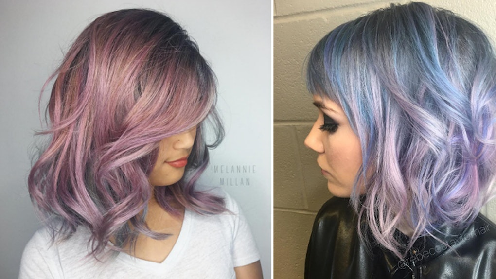 What To Know About The Metallic Hair Dye Everyone Is Flexing On