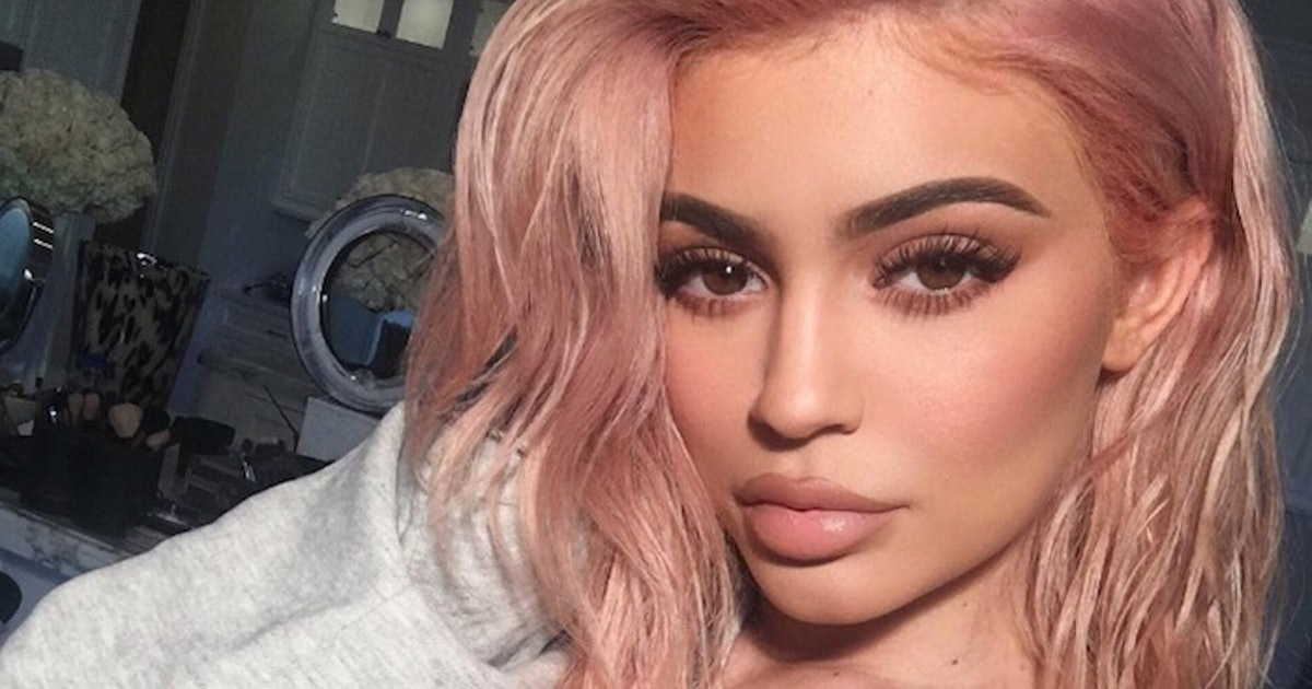 How To Copy Kylie Jenner S New Rose Gold Hair Even If You Ve Never Dyed Yours