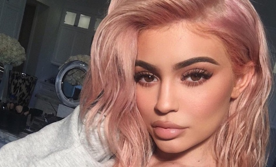 How To Copy Kylie Jenners New Rose Gold Hair Even If Youve Never