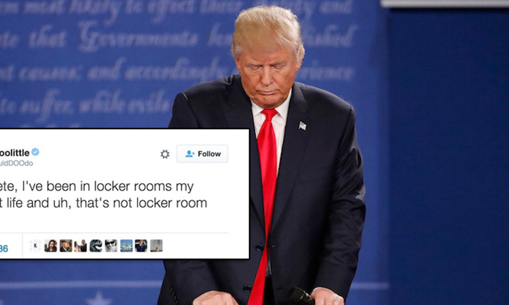 Was Donald Trump S Locker Room Talk Really Just That