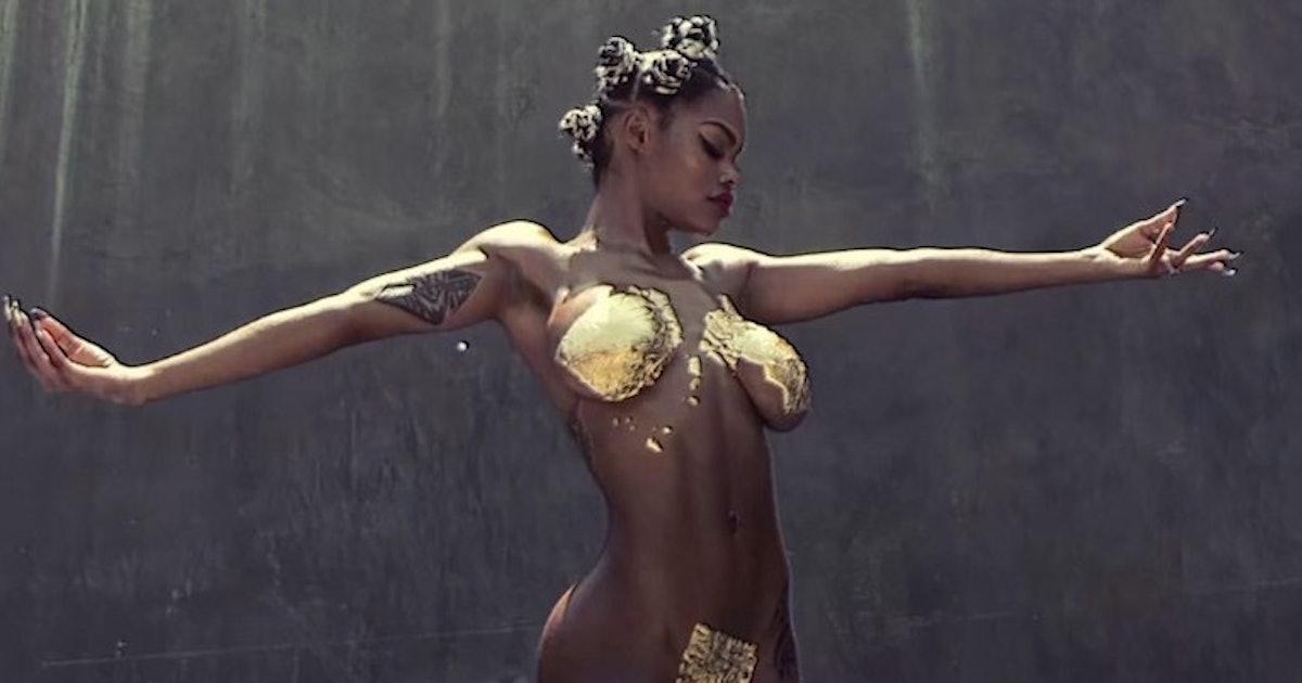 Teyana Taylor Nude
