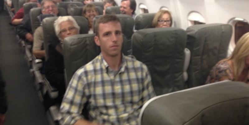 Girl Molested On Plane