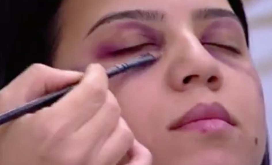 This Domestic Abuse Makeup Tutorial Is Downright Offensive