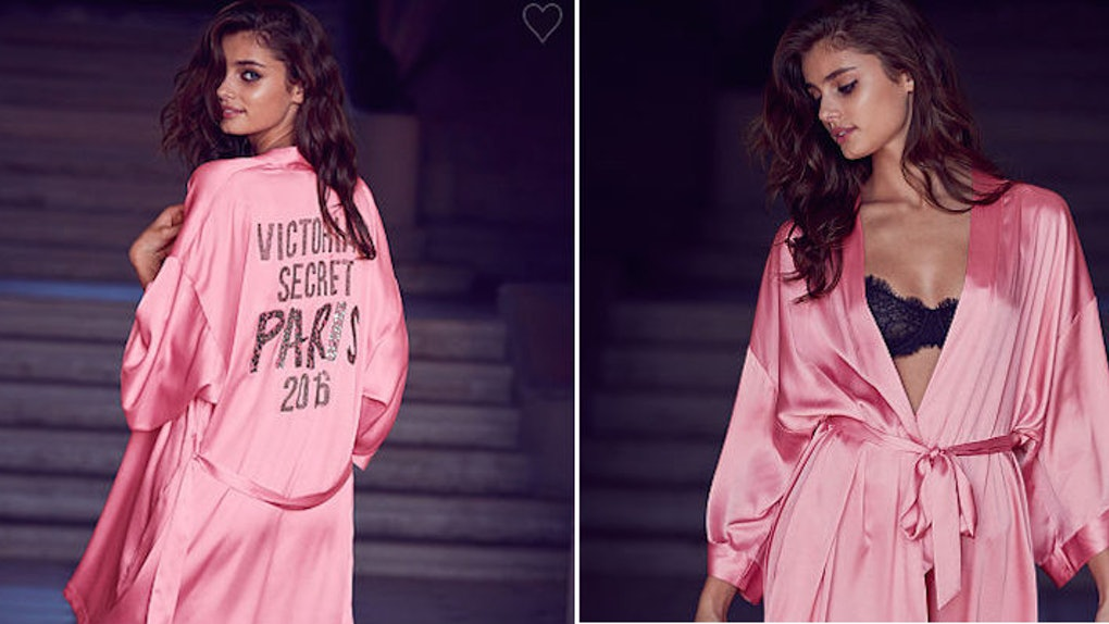 b2ec1ca5a67fa Victoria's Secret Fashion Show Robe Is The Perfect Purchase