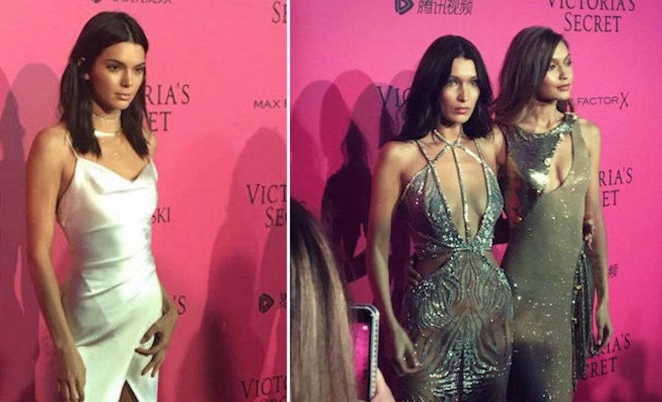 Kendall Jenner At Victoria\'s Secret Fashion Show After Party Pink Carpet
