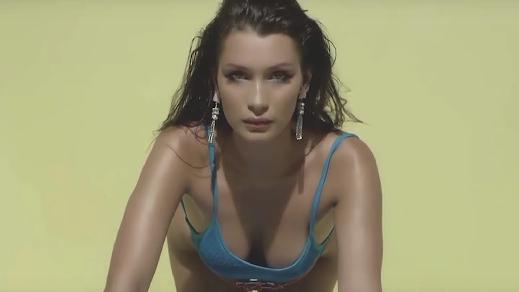 bc2dec67cac Bella Hadid s Slow Motion Workout Video Is So Sexual
