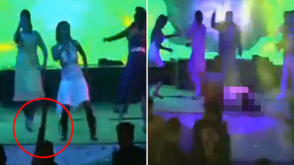 Graphic Video Shows Moment Wedding Dancer Shot Dead By Guest