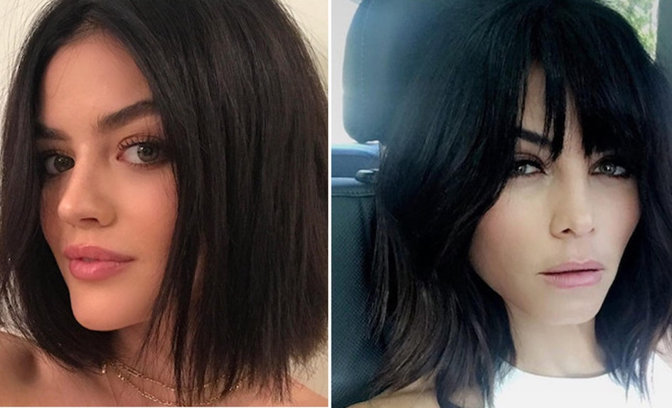 Lucy Hale Is Jenna Dewan Tatums Twin After This Haircut