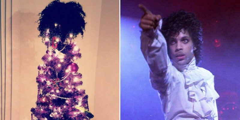 Prince Christmas Decorations.These Prince Themed Christmas Trees Are Your Holiday Goals