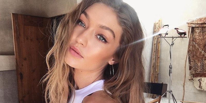 Gigi Hadid Is A Brunette Now And Looks Totally Different