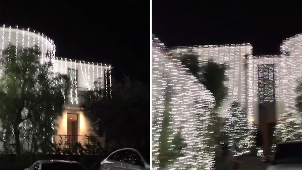 Kardashian West House Is Decked Out For Christmas