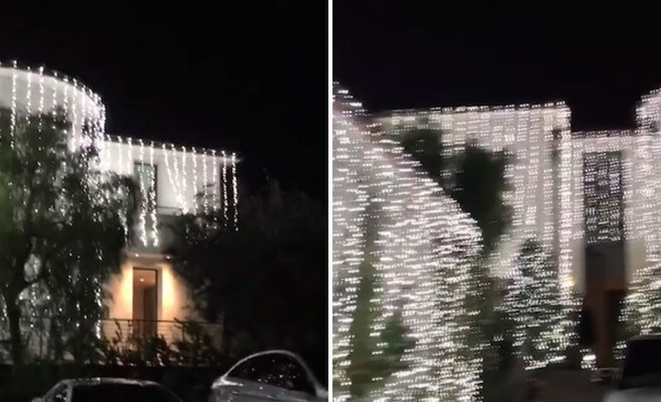 Kardashian-West House Is Decked Out For Christmas