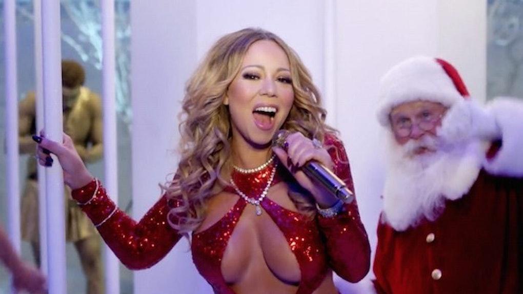 Mariah Carey Drops Sex... Christmas Songs On Youtube Mariah Carey