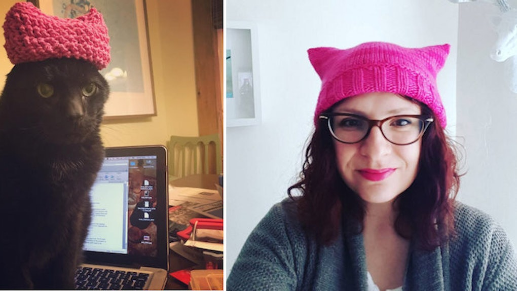 2ce89621ce88b  Pussyhats  Are The Fashion Choice Of Women s March On DC