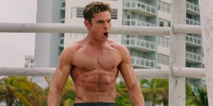 Muscly Dude Face Drenched
