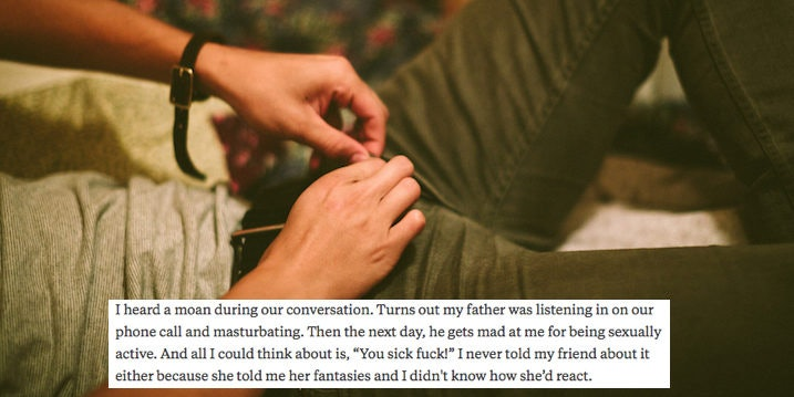 Dad masturbation talk